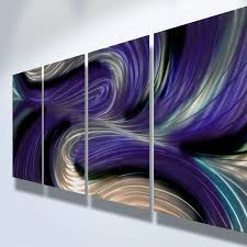 fresh ideas purple metal wall art extremely creative metal wall