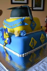University Of Delaware Math Major Graduation Cake With Hand