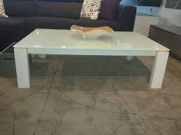 White Lacquer Coffee Table White Coffee Table Modrest P209a Modern With Lacquer Square