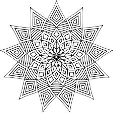 Small Picture Free Printable Geometric Coloring Pages For Kids