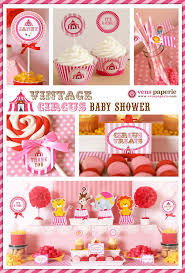 Cute Baby Shower Decorations 17 Best Ideas About Circus Baby Showers On Pinterest Circus