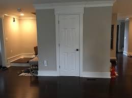 magnificent front door opens into kitchen bathroom door that opens into the lr front hall