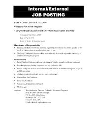 Best Photos Of Internal Job Posting Template Letter Of Interest