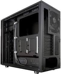 Fractal Design Define R5 Blackout Silent Fractal Design Define R5 Blackout Edition Atx Micro Atx Mini Itx Case With Window For Pc Black