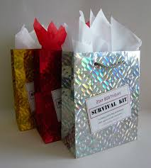 s the perfect 21st birthday gift ideas for her 30 lovely survival kit female fun idea novelty