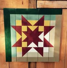 Barn Quilt, log cabin with an Ohio Star | Barn Quilts | Pinterest ... & Great Lakes Log Cabin Barn Quilt. The block is from Judy Martin's 1998 book, Adamdwight.com
