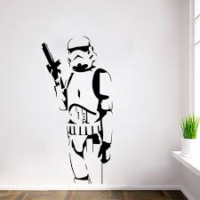 w 20 star wars wall art sticker wall decal diy home decoration wall mural removable on star wars wall art stickers with w 20 star wars wall art sticker wall decal diy home decoration wall