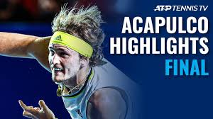 Zverev and Tsitsipas Battle for the Title | Acapulco 2021 Final Highlights  - YouTube