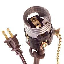 correctly connect hot and neutral wires when you replace a lamp switch and socket to keep