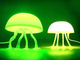full size of blown glass jellyfish table lamps by joel bloomberg lamp light fixture lighting adorable