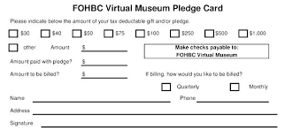 Fundraiser Pledge Form Template Order Form Template Free Luxury Donation Pledge Card Template Free
