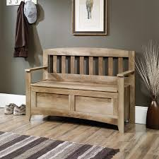 Living Room Bench With Storage Sauder 416699 East Canyon Mossy Oak Storage Bench