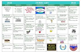 February 2018 Activities Calendar - Manassas Health & Rehab Center ...