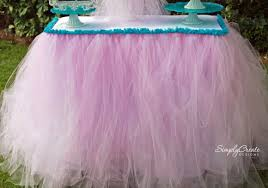 no sew table skirt steps catchmyparty com