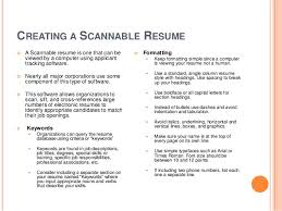sincerely cecil sagehen 13 creating a scannable resume - Scannable Resume  Format