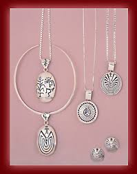 rings man in a maze silver jewelry