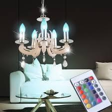 Rgb Lampe Luster Im Inkl Led Kronleuchter Set Fernbedienung