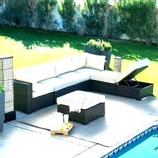 patio sofa no cushions couch clearance wicker round sectional furniture likable outdoor
