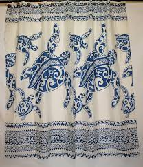 shower curtain rugs and bathroom accessory aloha fl print