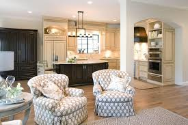 Kitchen And Family Room To Decorate A Kitchen Dining Room And Family Room Combo