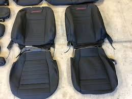 factory oem cloth seat covers black