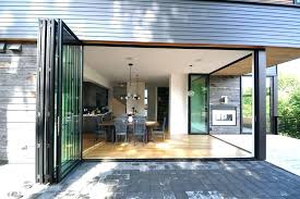 folding glass doors exterior best of accordion patio and we sliding intended for design 17