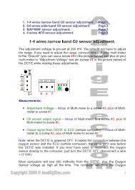 bosch o2 sensor wiring solidfonts o2 sensor wiring diagram nilza net