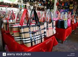 Flea Market Designer Handbags Fake Designer Bag Stock Photos Fake Designer Bag Stock