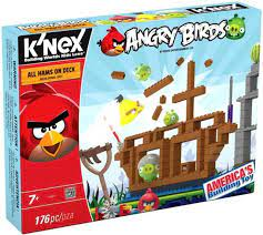 KNEX Angry Birds All Hams On Deck Set 72457 Damaged Package - ToyWiz