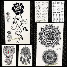 водонепроницаемый временные татуировки стикеры женщин флеш тату