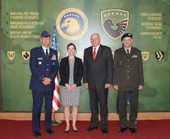 Minister and Commander of KSF hosted Assistant Secretary of Defense of U.S  Dr. Evelyn N. Farkas - News and Events - MM - MO - MoD