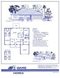 House Plan Adams Home Builders  Adams Homes Lakeland  Adams Florida Home Builders Floor Plans