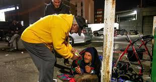 Korean War vet keeps homeless warm at night - The San Diego Union-Tribune