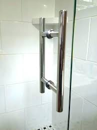 24 glass shower door handles