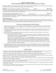 Financial Planning Consultant Resume] Planner Resume, Skill Resume .