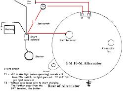 gm alternator wiring diagram gmc wiring diagram gallery alternator wiring diagram internal regulator at Alternator Wiring Diagrams