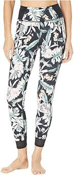 Premium performance <b>tight print</b> pants guava urban floral <b>print</b>, New ...