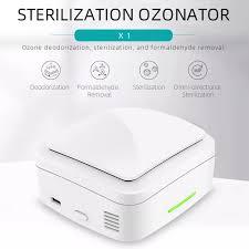 Máy Lọc Không Khí Ozone Cầm Tay Mini Thiết Bị Khử Mùi Tại Nhà Xe Hơi Sạc  USB
