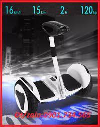 Xe điện cân bằng - xe cân bằng 2 bánh có tay cầm - bảo hành 12 tháng