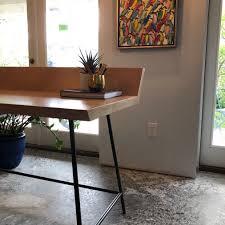 office metal desk. ModernWood-Metal-Desk-Doorman-Designs Office Metal Desk