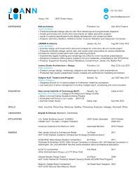 Free Architect Resume Samples Cv Sample Doc Example Uk Aws Templates