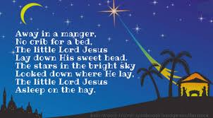 poems for kids away in a manger