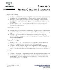 Bartending Resume Examples Adorable Example Of Good Resume Objective Corbero
