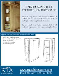 Making A Wall Cabinet Adding Extra Storage Space To The End Of Your Wall Cabinets By
