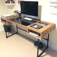 computer in desk build ing computer desk build plans