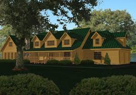 Log Homes And Log Cabin Kits And Designs By Homestead Log Homes IncLarge Log Cabin Floor Plans