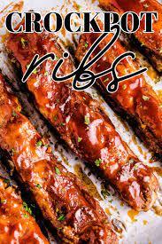 no fuss crockpot spare ribs food