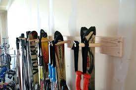 ski racks for home ski storage rack for garage ski storage rack home renovation ideas on ski racks for home up wall