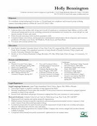 Internship Resume Examples For Collegetudents Template No