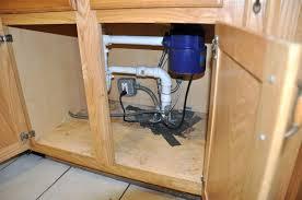 Under Kitchen Sink Cabinet Instaling Essential Drain Kitchen Sink Pipes Kitchen Design Ideas